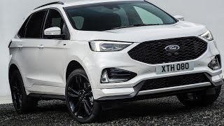 Facelifted Ford Edge Arrives In Europe With New Bi-Turbo Diesel | Car News 24h