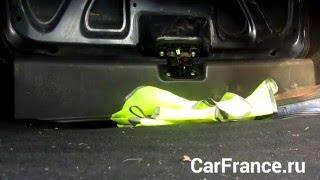 Не закрывается багажник Лада Гранта(Открыл багажник, положил покупки, а вот закрыть не вышло. Погода плюсовая. Попробовал потихонечку, попробов..., 2016-01-30T12:41:12.000Z)