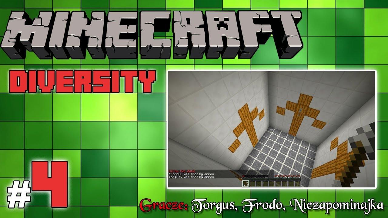 """Minecraft Escape: Diversity z Frodo/Torgus! [4/x] – """"Zagwozdki minecraftowe"""""""