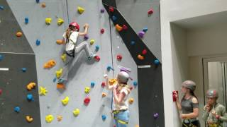 First climbs on the HKA Climbing Wall