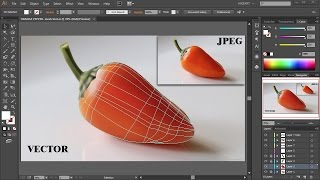 The Mesh Tool - Coloring and Shading - Adobe Illustrator