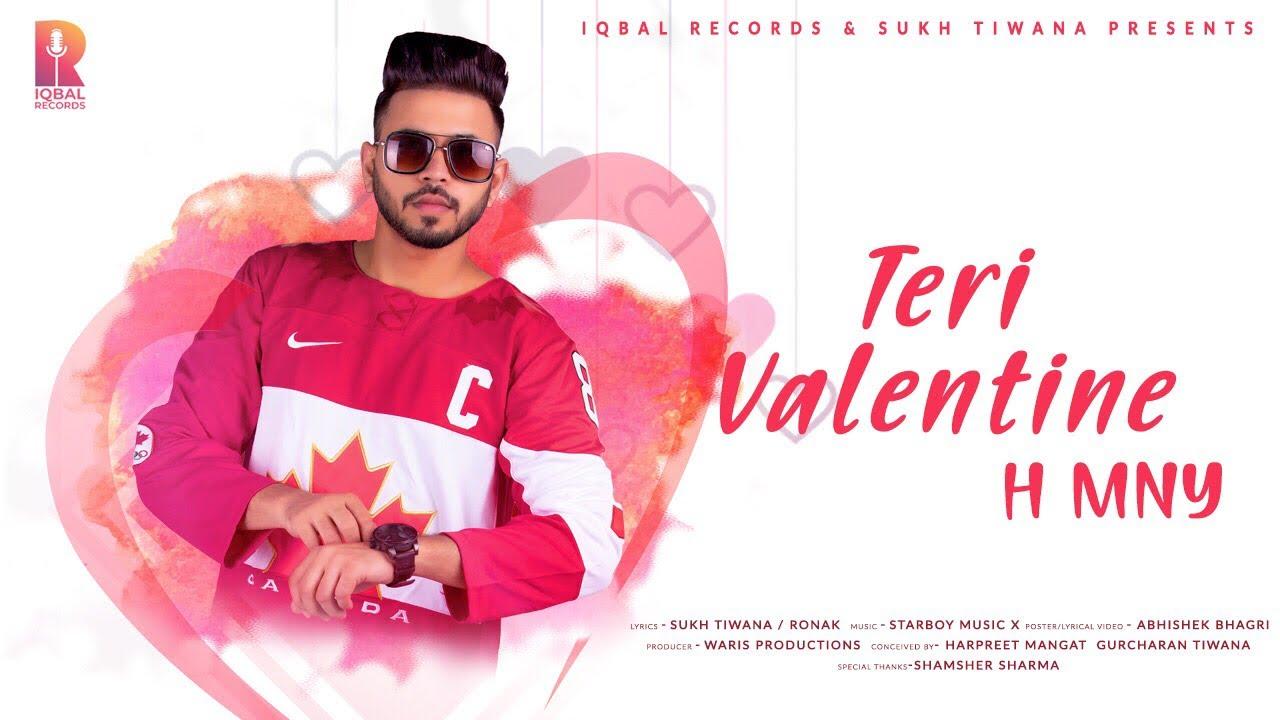 Download Valentine Teri - H MNY - Lyrical Video - New Punjabi Songs 2019 - Latest Punjabi Song 2019
