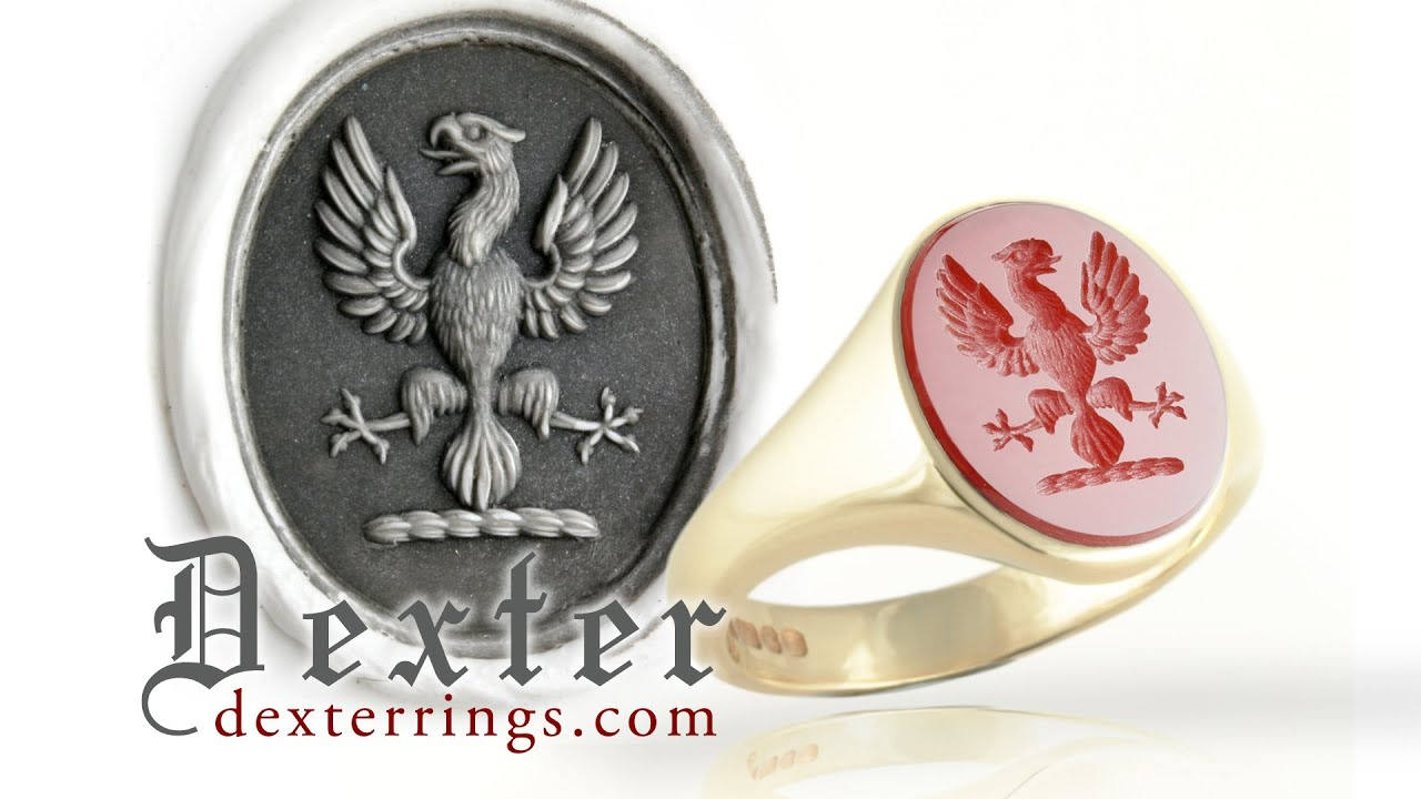 Making A Wax Impression With Signet Ring Or Seal