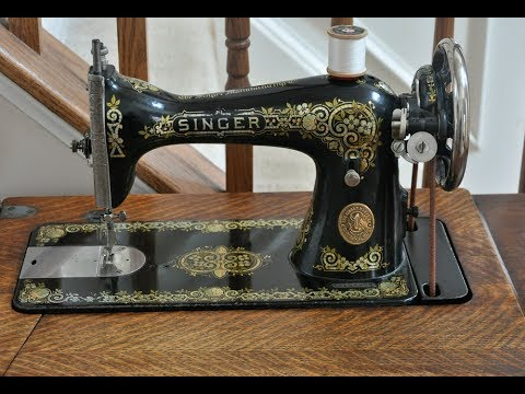 40 Singer Model 4040 Sewing Machine WZigzag Attachment YouTube Simple Singer Sewing Machine Model 15 91 Value