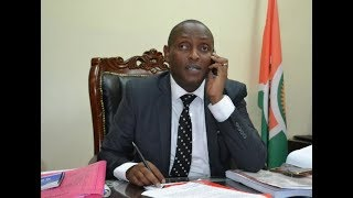 Taita Governor Samuel Samboja  grilled by Senate Committee