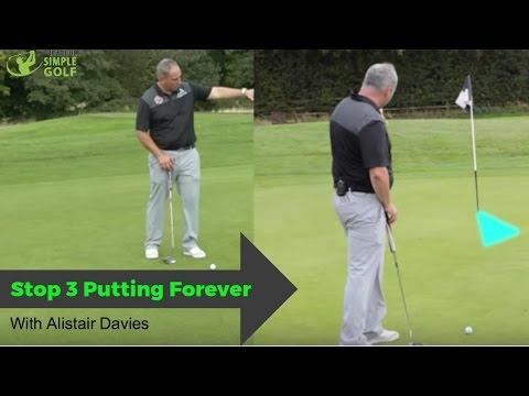 How To Stop 3 Putting Forever With These Simple Golf Tips