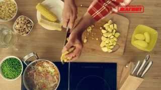 Овощной суп Министроне  Урок 4
