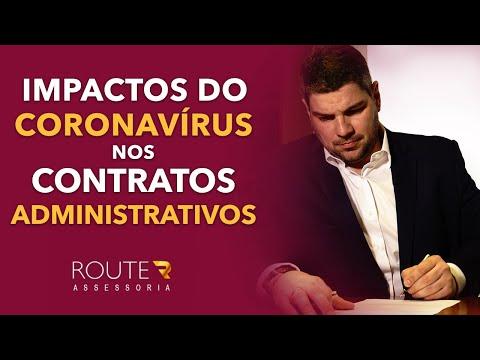 Impactos do coronavírus nos CONTRATOS ADMINISTRATIVOS