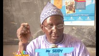 RTS : Emission speciale sur l'iodation du Sel à l'Ecole  Joseph balde de Kolda