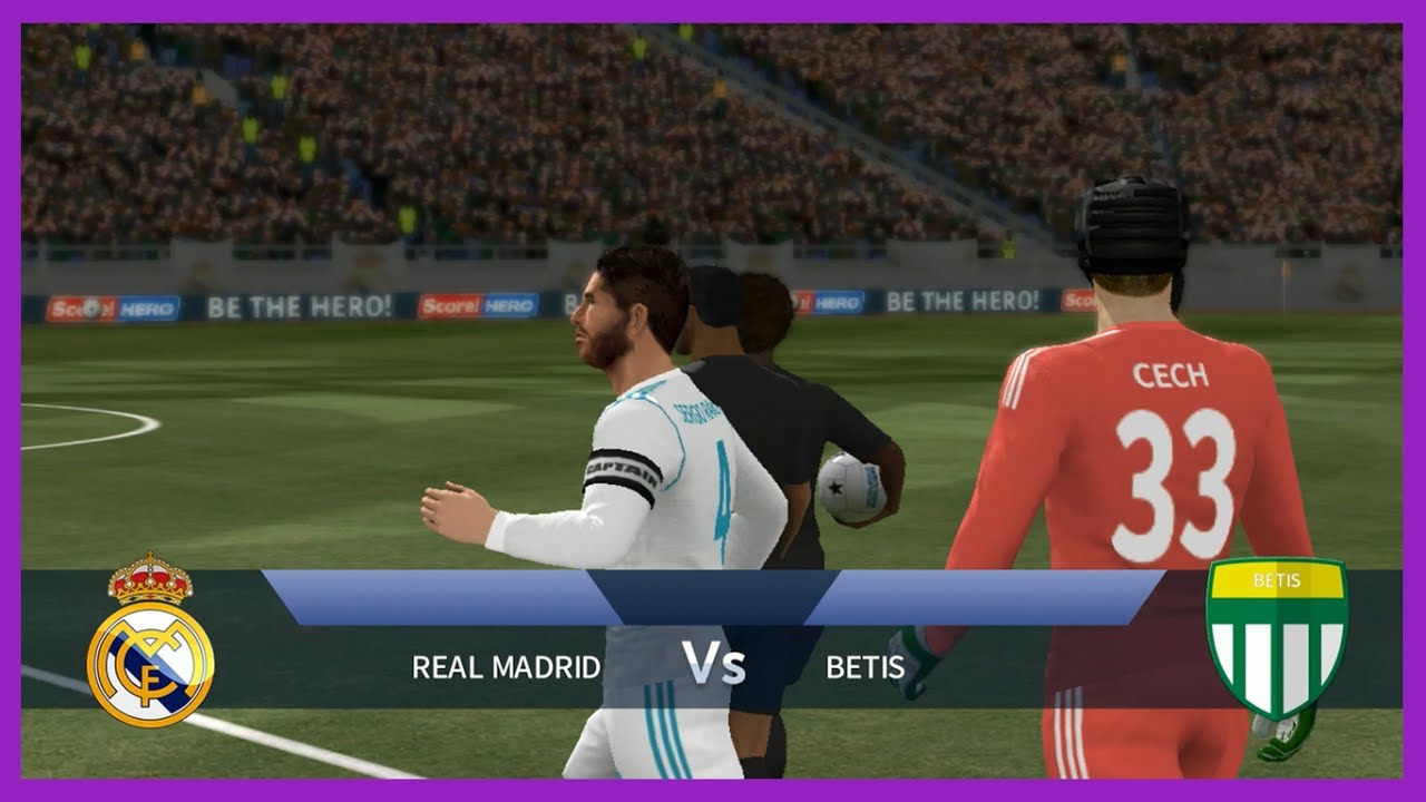 Dream League Soccer 2017 Andriod Gameplay # Real Madrid New Kit 2017-2018