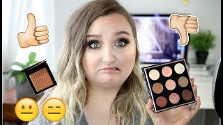 NO BULLSH*T HONEST REVIEW | NEW Makeup Geek IN THE NUDE First Impressions/Swatches & Tutorial
