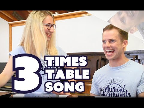 3 Times Table Song - Journey COVER