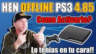 HEN OFFLINE PS3 HEN 3.0 - EN TU CARA !!!!