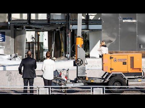 انفجار يهز مقر وكالة الضرائب في كوبنهاغن  - 11:54-2019 / 8 / 7