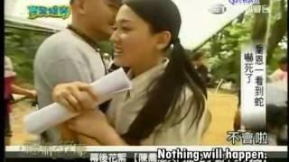 [EngSub] WQYL 090609 Behind-The-Scenes: Joe Chen vs Snake