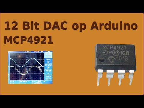 12Bit DAC Op Arduino (zonder Extra Library)