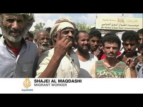 Anger in Yemen over Saudi deportations
