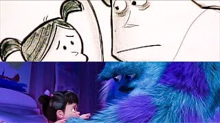 Monsters Inc 'Sulley & Boo's Goodbye' From Script To Screen (2019) Disney Pixar HD