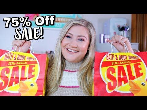 Bath & Body Works Winter Sale Haul 2019
