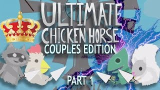 COUPLES CLASH | Ultimate Chicken Horse Gameplay Part 8