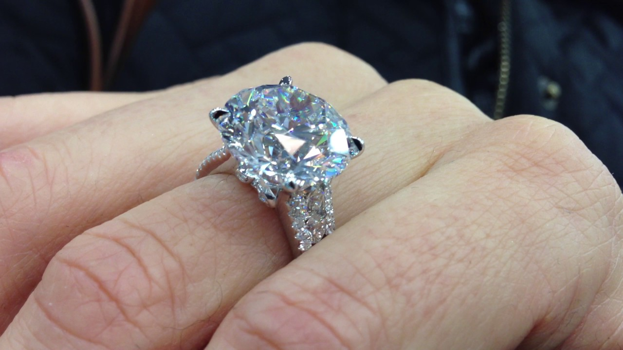 10 carat diamond engagement ring
