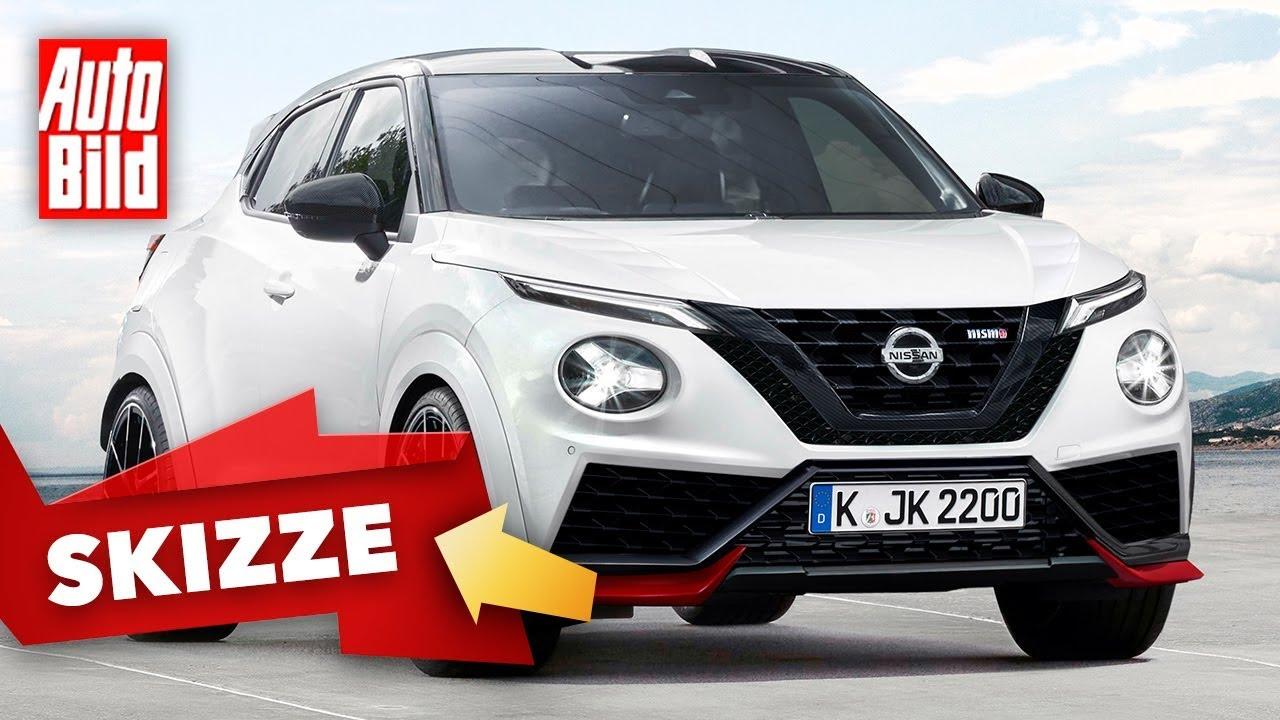 Nissan Juke Nismo (2021): Skizze - Neuvorstellung - SUV ...