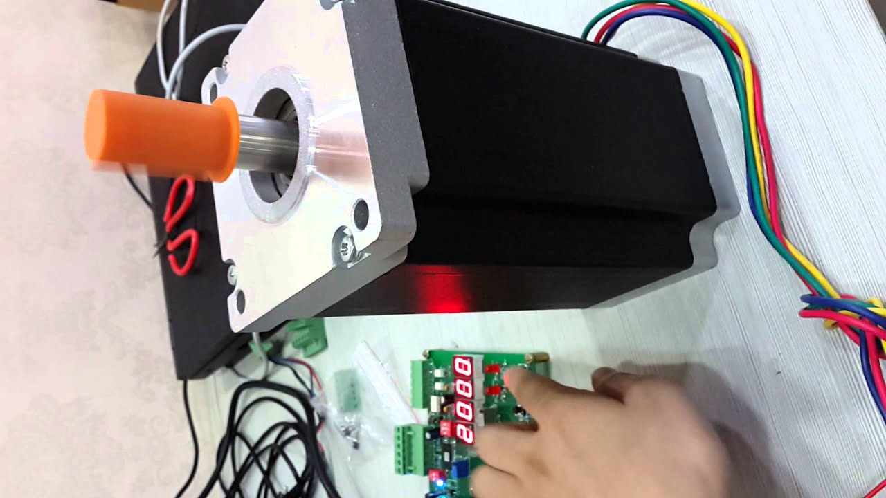 Wiring Diagram Motor Ma860h Nema 42 Stepper Motor Youtube