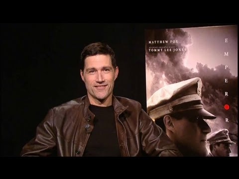 Matthew Fox - Emperor Interview HD - YouTube
