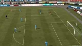 Эстонский футбол выпуск 17(Зенит VS Бенфика)