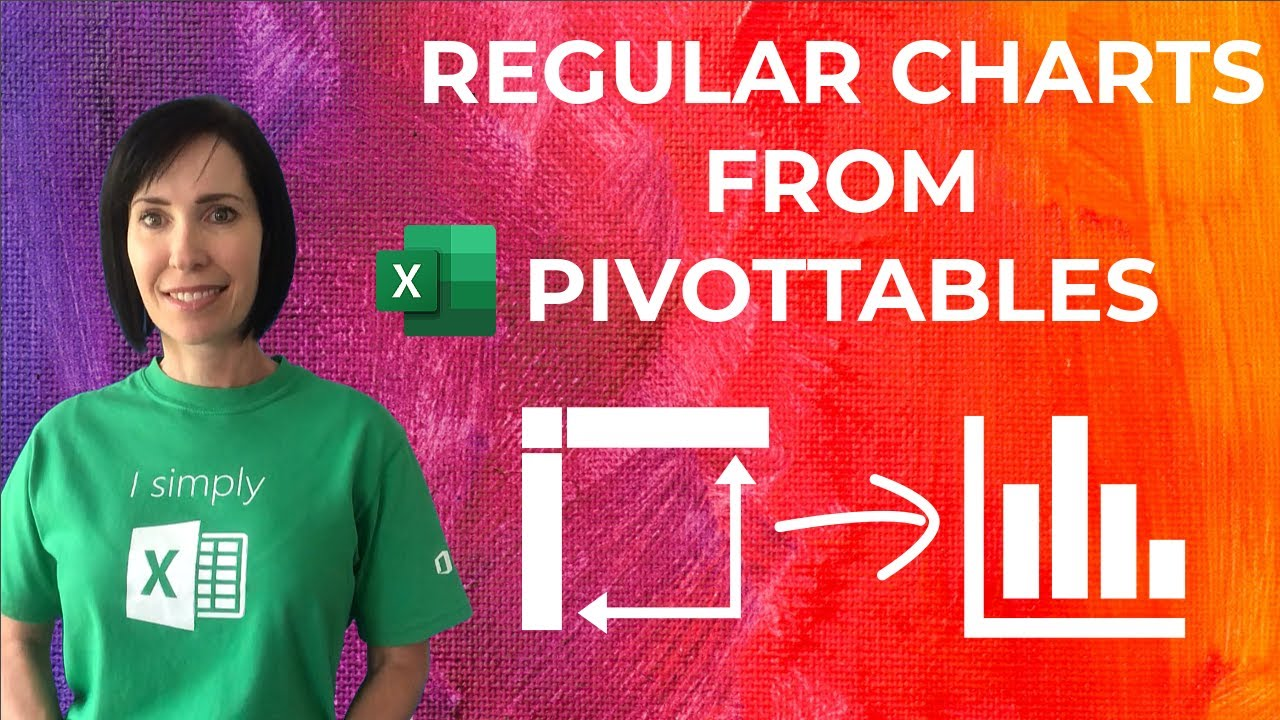 Trick Excel into Creating Regular Charts from PivotTables - 3 Easy Techniques