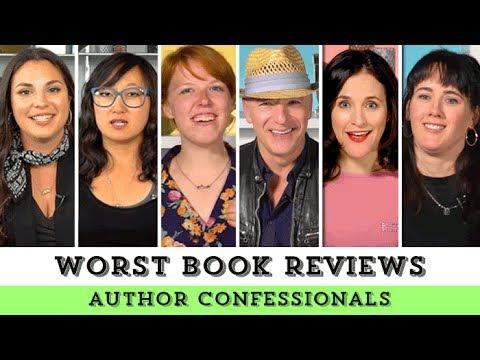 Author Confessionals: Worst Book Reviews Pt. 2   Epic Reads Exclusive