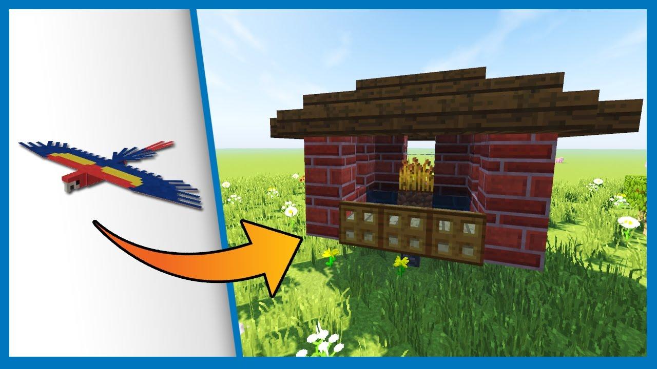 Come costruire una casa per i pappagalli minecraft best - Idee per costruire una casa ...