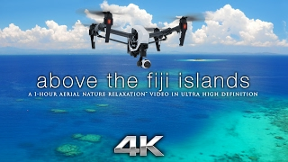 """Download """"Above the Fiji Islands"""" Aerial Nature Relaxation™ 4K UHD Ambient Film w/ Music for Stress Relief Mp3 and Videos"""