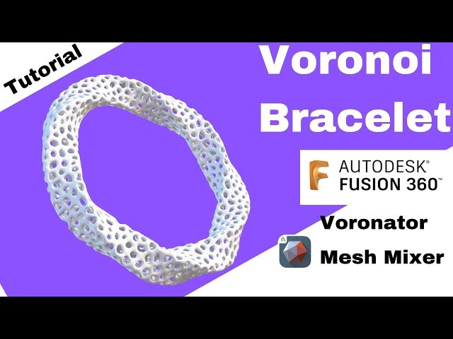 Design a Bracelet in Fusion 360 -Mechatheart Beginners Tutorials