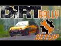 DiRT Rally   Ford Escort Cosworth Setup   Finland RAIN   Wheel & Controller [4K]