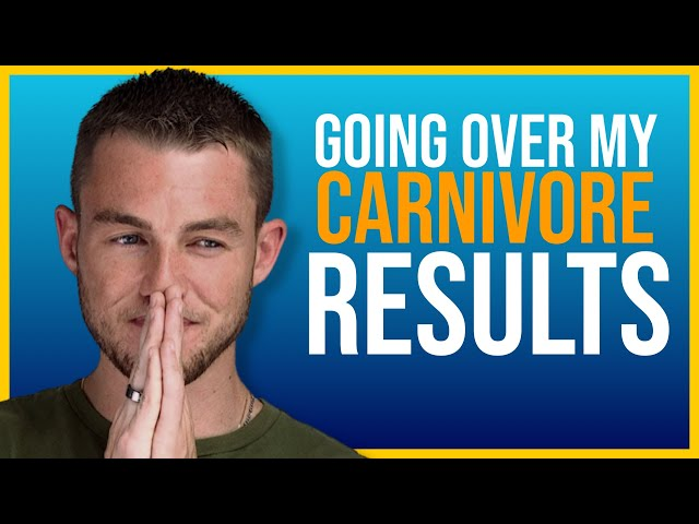 MY CARNIVORE RESULTS ARE IN..... (IN DEPTH LOOK)