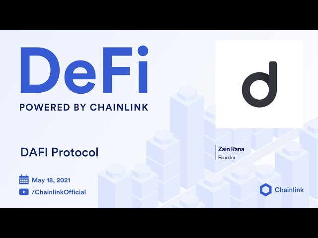 Chainlink Live | DAFI Protocol: Reinventing Incentive Models for Stronger Crypto Communities