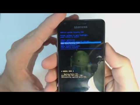 Вопрос: Как сбросить настройки Samsung Galaxy S2?