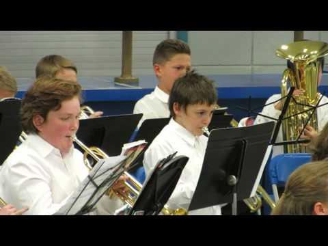 Lakeridge JHS - Beginning Band Nov 2015 Performance - Part 2