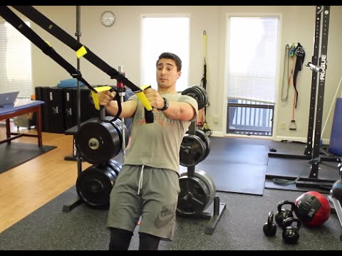 Best Posture Exercises on the TRX