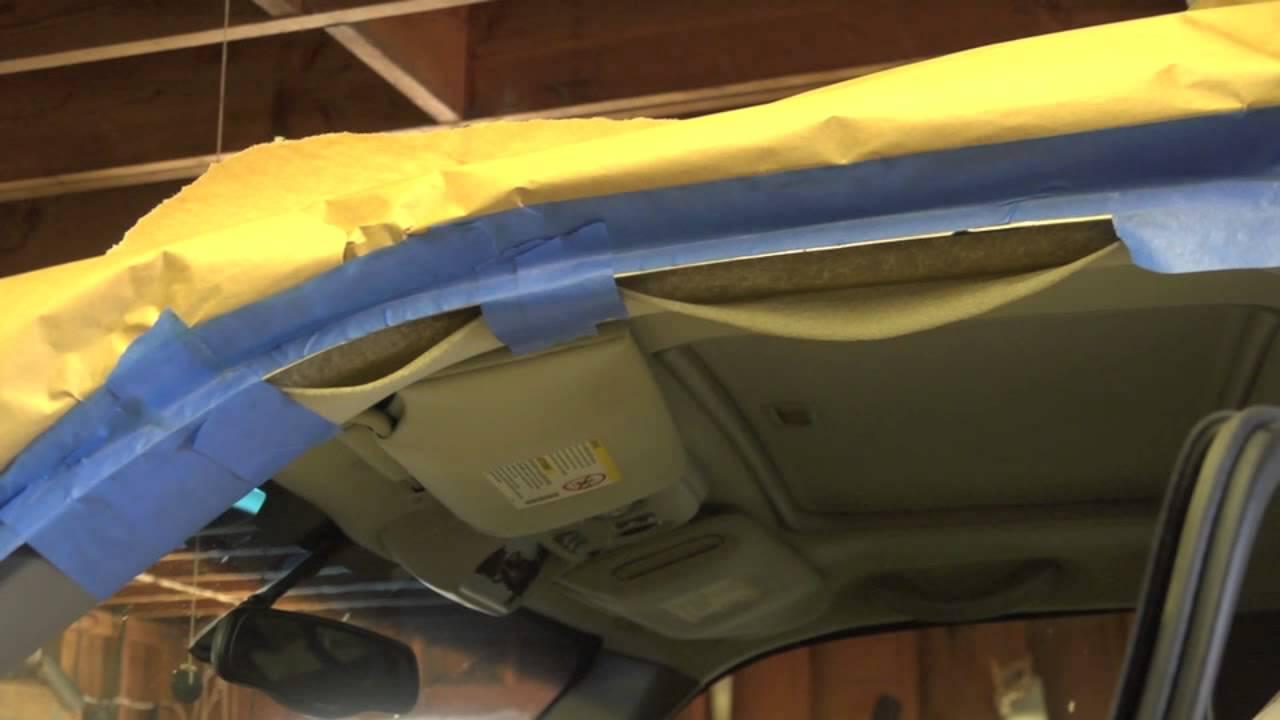 Car Interior Roof Lining Repair Gold Coast