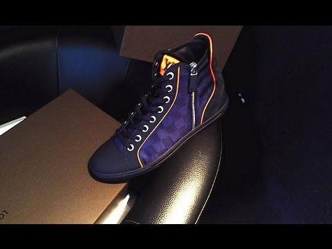 ceedc8cfe03c1 UNBOXING Louis Vuitton Limited Edition sneakers 2013 - YouTube