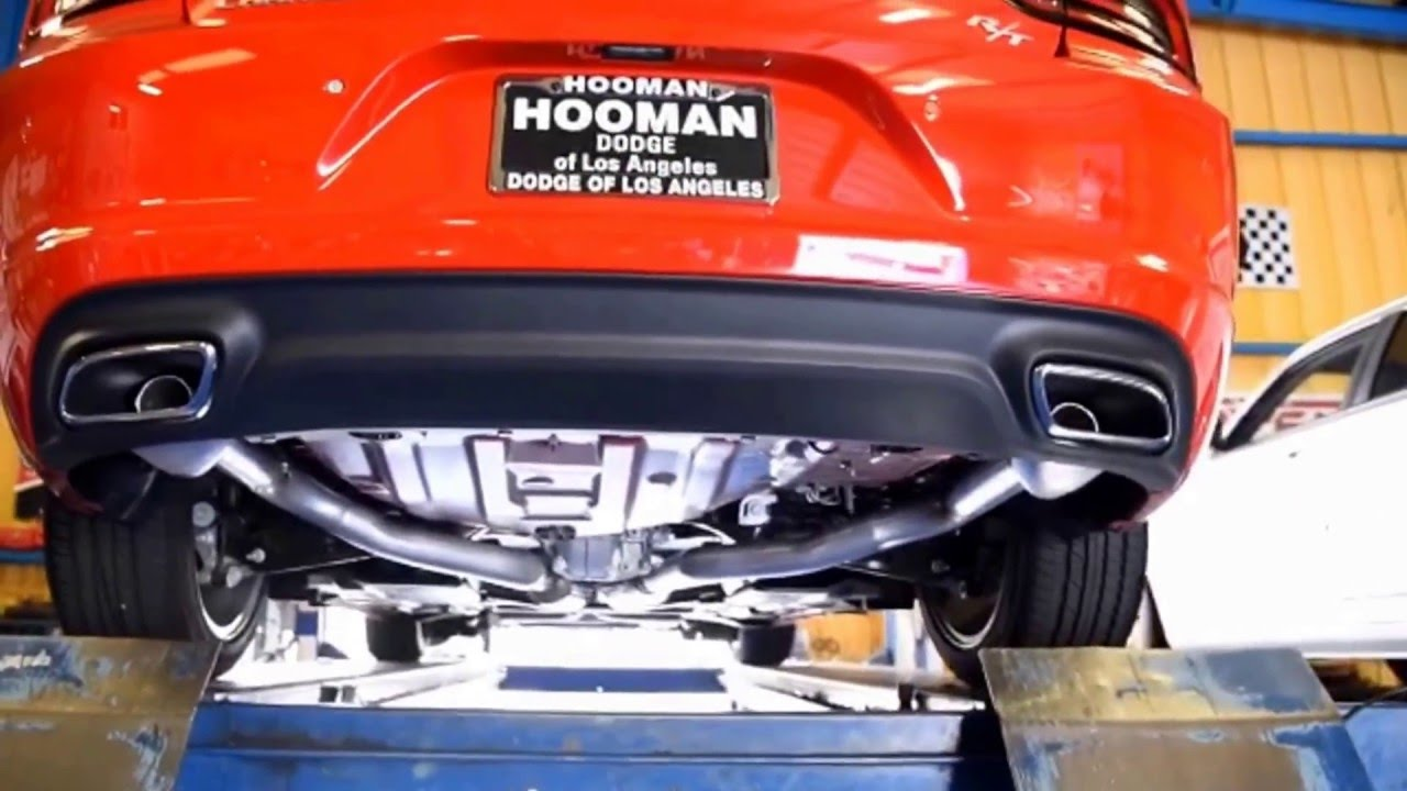 2016 Dodge Charger Borla S Type Dual Exhaust
