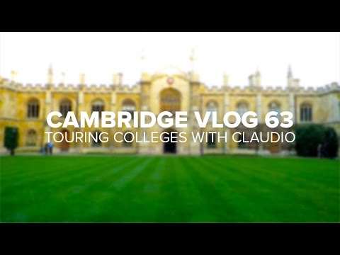 Cambridge Vlog 63 | Touring Colleges with Claudio