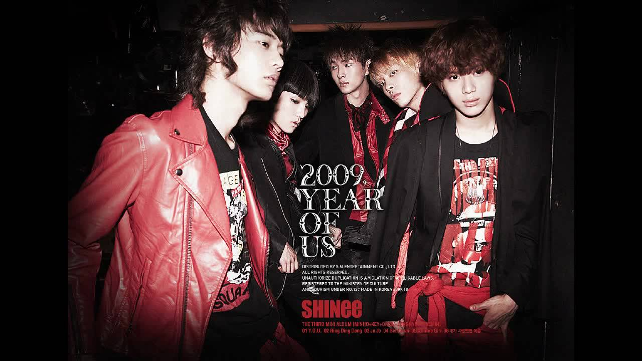 HD SHINee Ring Ding Dong mp3 2009 Year Of Us Mini Album ...