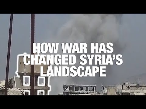 How War Has Changed Syria's Landscape: Mapping the Destruction of East Damascus