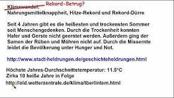 Klimawandel ►Temperaturrekord in Berlin im Jahre 1756