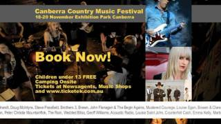 Canberra Country Music Festival 2011 Television Advertisement Official