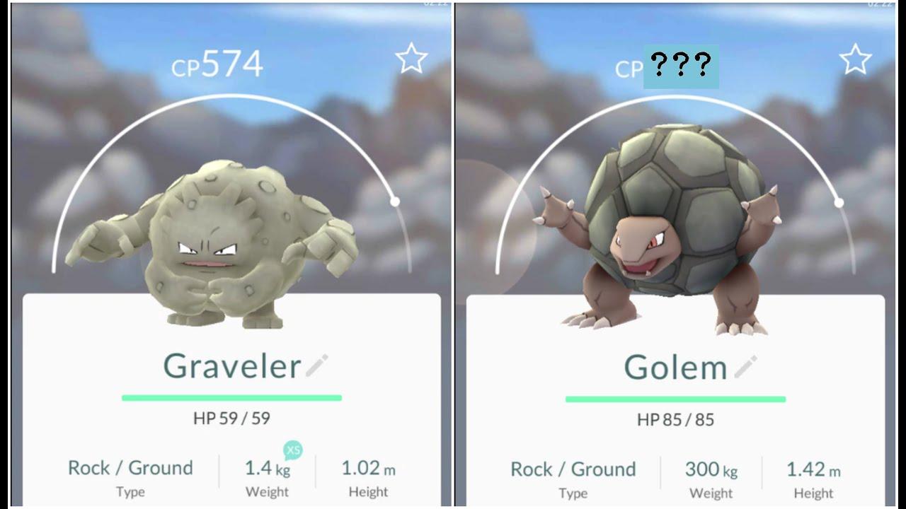Pokemon Go Graveler(574) Evolution - YouTube