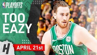 Gordon Hayward Full Game 4 Highlights Celtics vs Pacers 2019 NBA Playoffs - 20 Points!